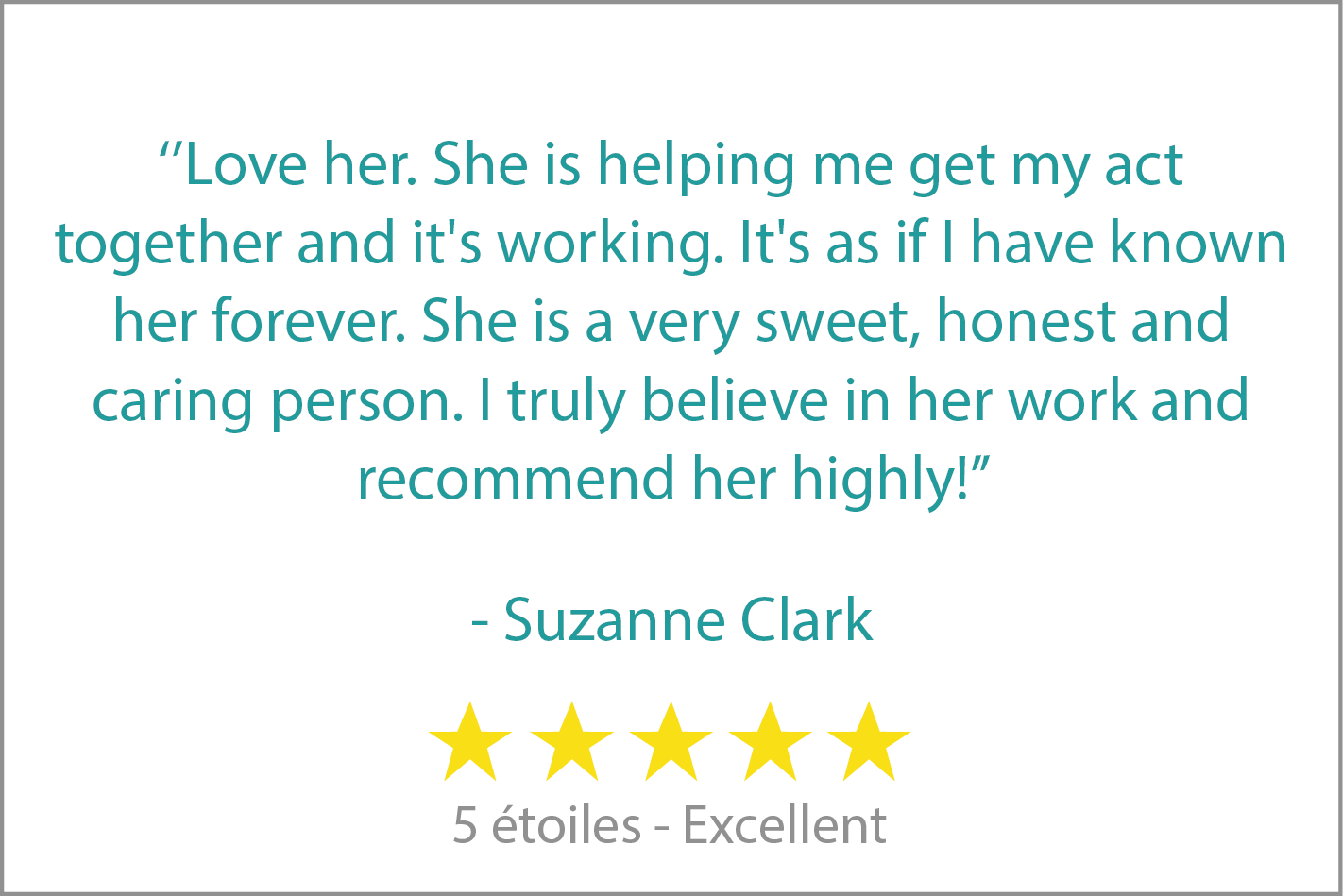 review - Suzanne Clark