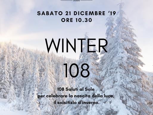 WINTER 108 ❅ Sabato 21 Dicembre'19