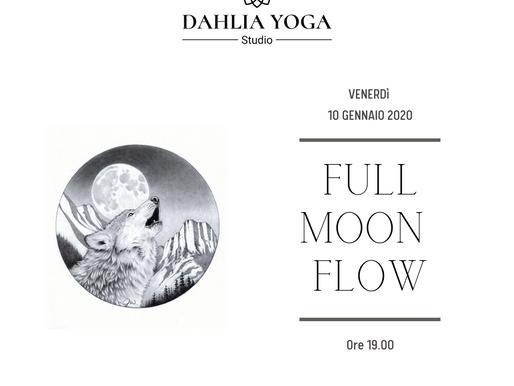 FULL MOON FLOW-LUNA DEL LUPO 10 GENNAIO '20