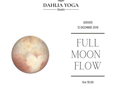 Full Moon flow - Luna della Quercia 12Dicembre ☾