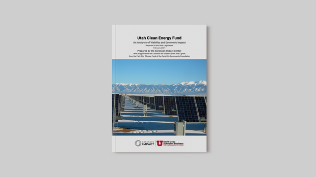Utah Clean Energy Fund: An Analysis of Viability and Economic Impact