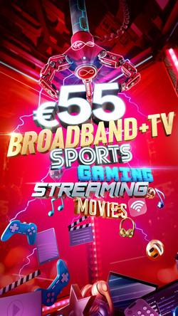 Virgin Media LNB Cable Sale
