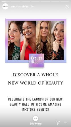 Beauty Hall Digital Campaign