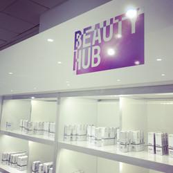 Beauty Hub Logo In Store