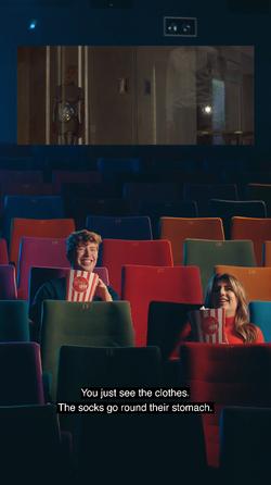 Dublin International Film Festival - IG Story Content Screengrab