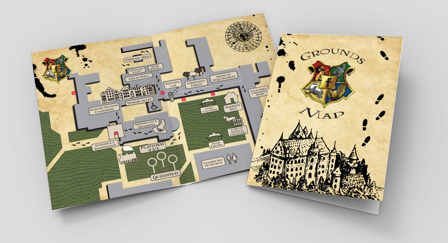 Map and Schedule booklet