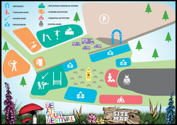 Bestival Site Map