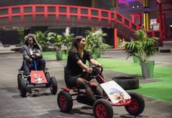 Mario Kart w/ Bridge