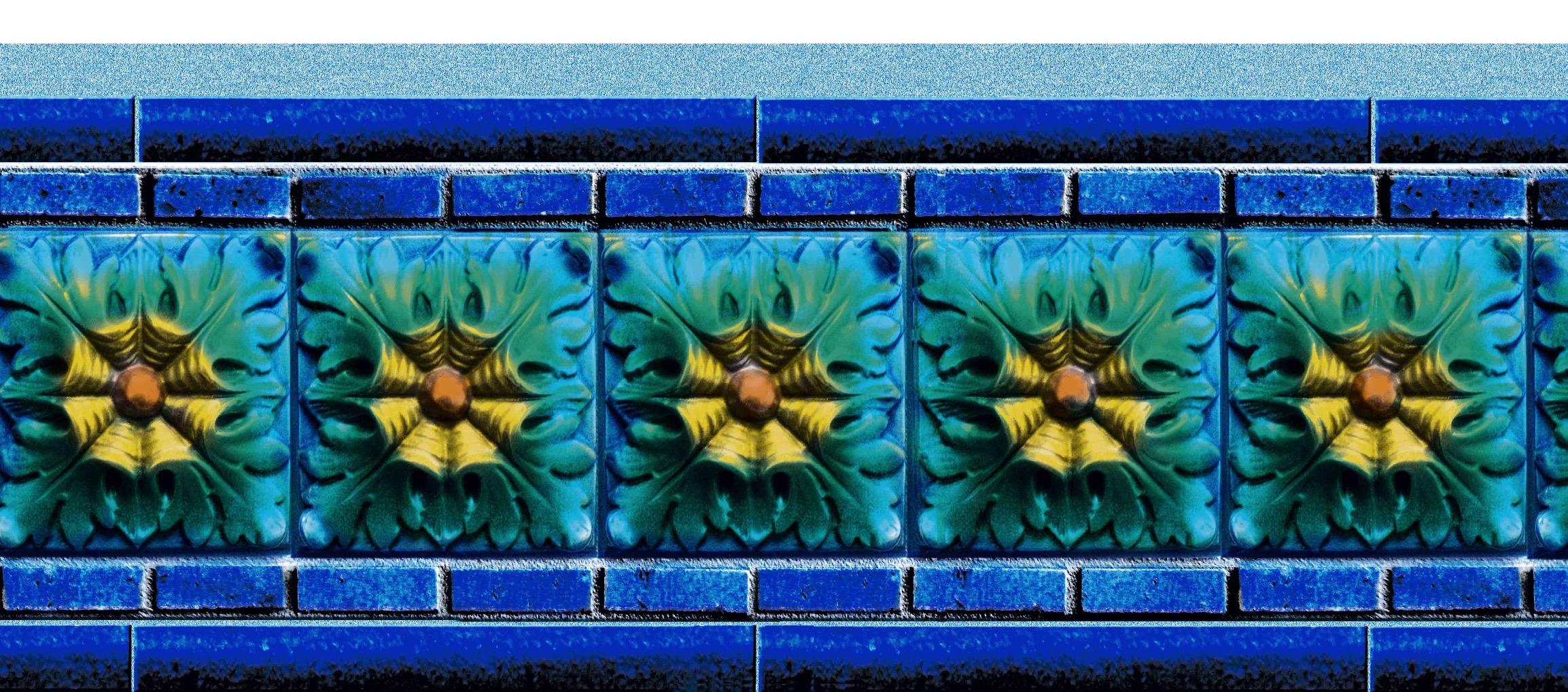 Close-up of Liberty Tile