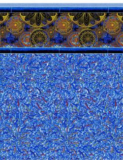 Universe Tile with Confetti Floor