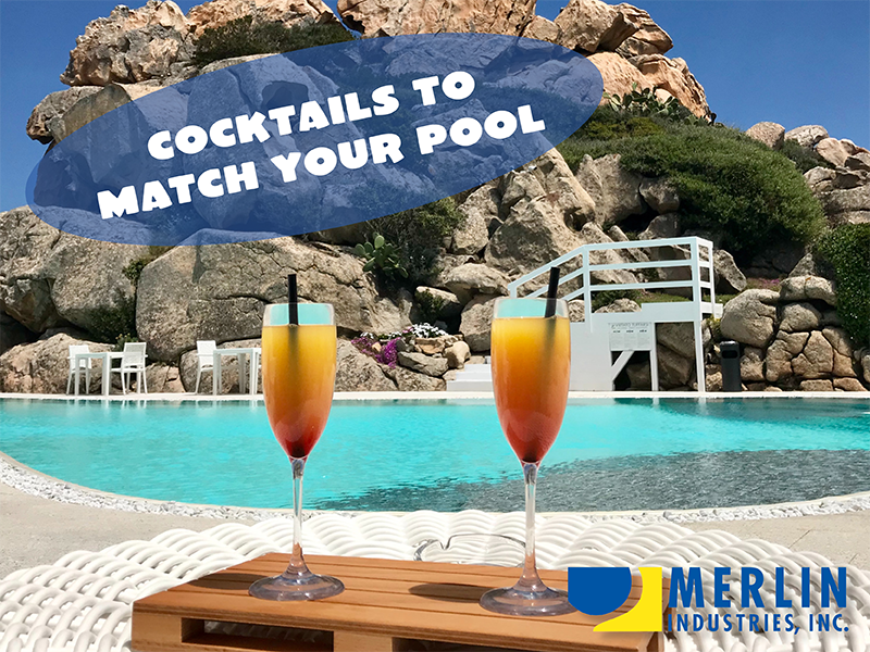Cocktails to Match Your Pool
