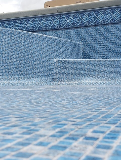 Sea Grove Tile with Peaceful Waters Floor