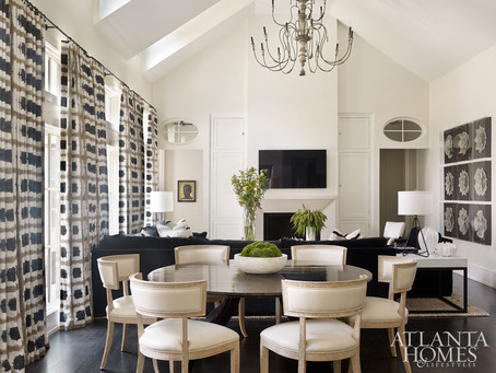House Tour: A Beatifully Updated Buckhead Home by Melanie Turner Interiors