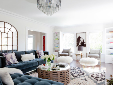 An Inside Look: Cool, Blue Living by Katherine Carter