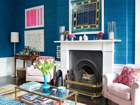 Quickie House Tour: Designer Jessica Buckley's Colourful Edingburg Digs