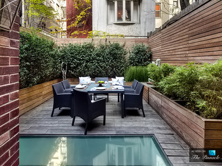 An Outside Look: A Clean and Simple Upper East Side Backyard