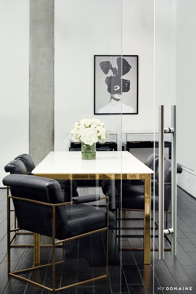 Glam Office Interior