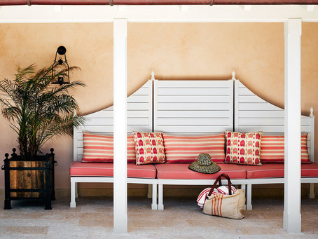 An Outside Look: A Harbour Island Patio Has Us Daydreaming of Warmer Weather