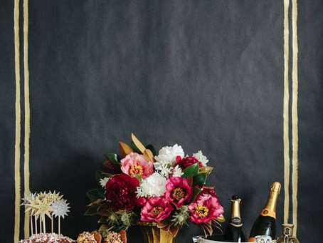 An Inside Look: Get Inspired for NYE with this Harper's Bazaar Holiday Spread