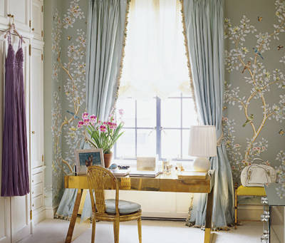 Look of the Day: Aerin Lauder's Dressing Room