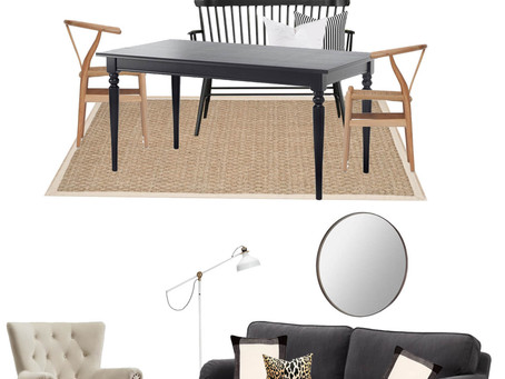 Chez ADPC:  Tackling our Living Room/ Dining Room Combo