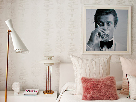 Look of the Day: Glam, Pink, Madrid Bedroom