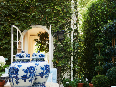 An Inside Look: A Dreamy Hollywood Hills Garden by Mark D. Sikes