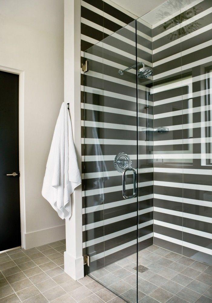B&W Bathroom Tiling