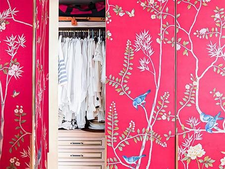 An Inside Look: Austyn Zung's Show-stopping Wardrobe Doors