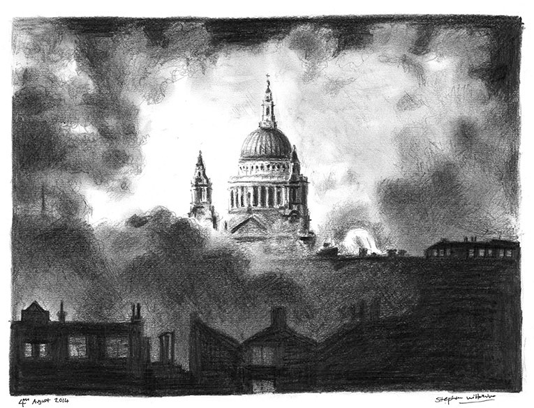 St Pauls Cathedral by Stephen Wiltshire