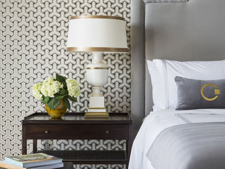 Look of the Day: Tobi Fairley's Hotel Guestroom
