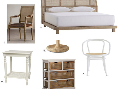 We're On A Cane Furniture Kick For The Latest Product Round-Up...