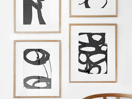 Look of the Day: Simple Art Display