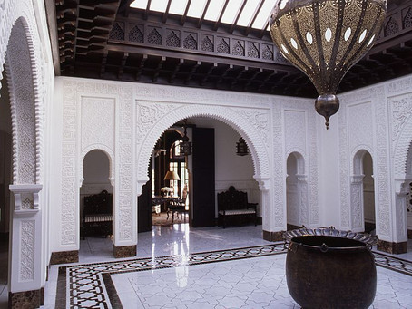 An Inside Look: A Jaw-Dropping Palace Interior in Marrakesh by the Late Alberto Pinto