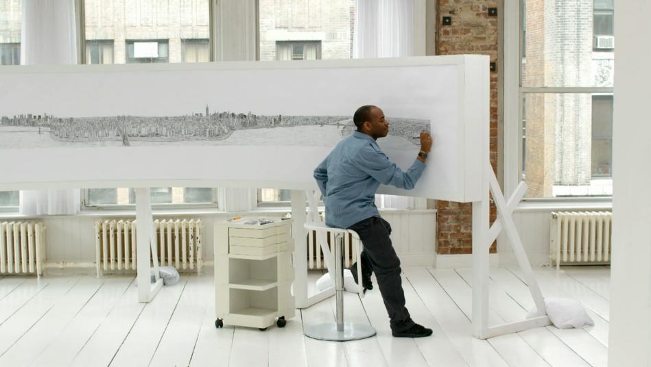 Stephen Wiltshire sketch of New York City