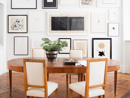 Look of the Day: West Village Townhouse Dining