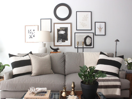 Look of the Day: Design Indulgence's One Room Challenge Reveal
