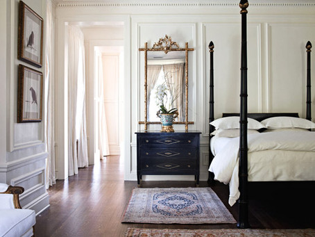 An Inside Look: A Timeless Showhouse Bedroom by Gail Plechaty