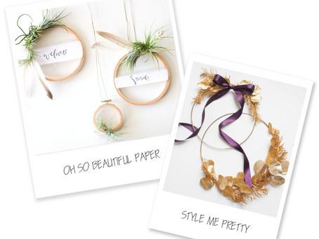Last Minute Holiday DIY: 2 Simple Wreath Ideas