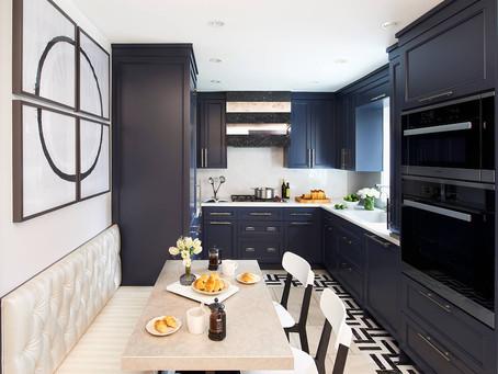 An Inside Look: Inside a Sleek Toronto Kitchen by Stacey Cohen Design