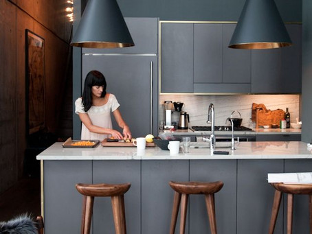 Look of the Day: Athena Calderone's Kitchen