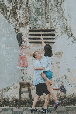Natural Pre-wedding at old town ipoh