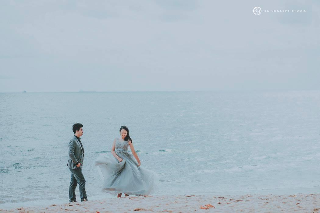 Natural Pre-wedding at sitiawan