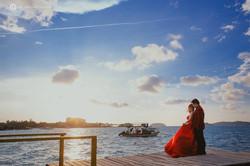 Natural Pre-wedding at Sabah