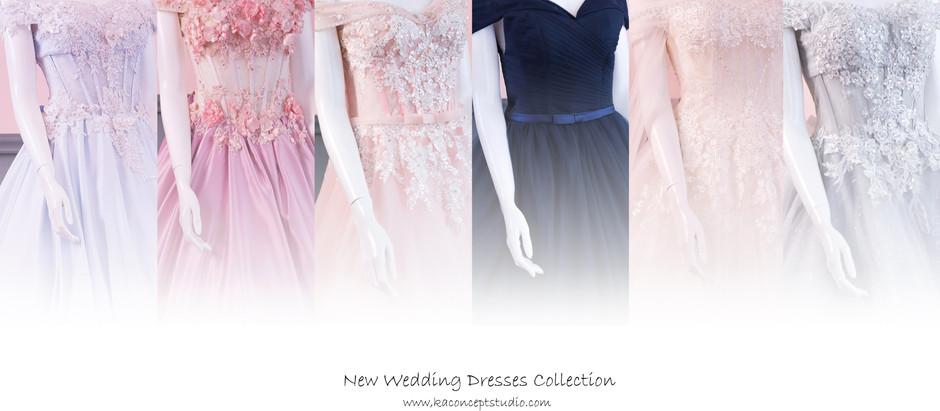 New Wedding Dresses Collection 新款婚纱