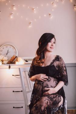 Maternity photography at Telu