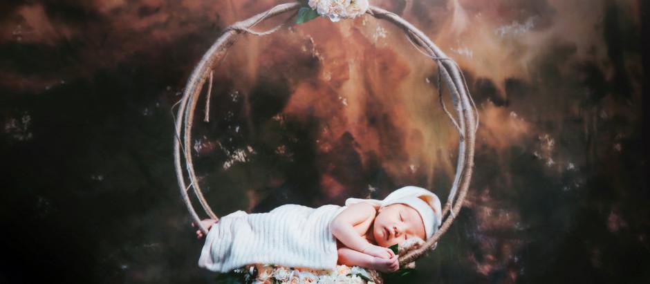 DIY Newborn Baby Props
