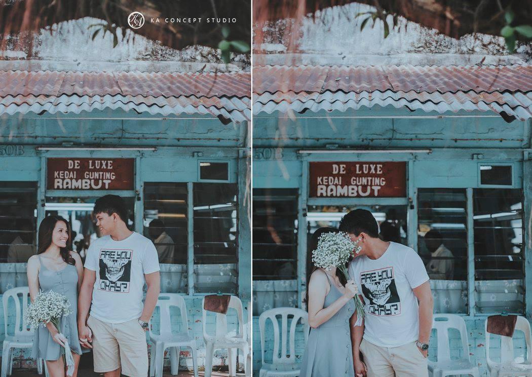 Natural Pre-wedding at Teluk intan