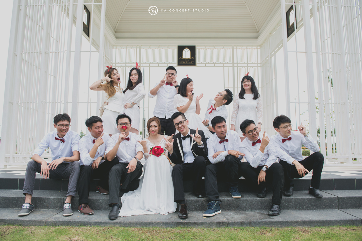 wedding photography in KL
