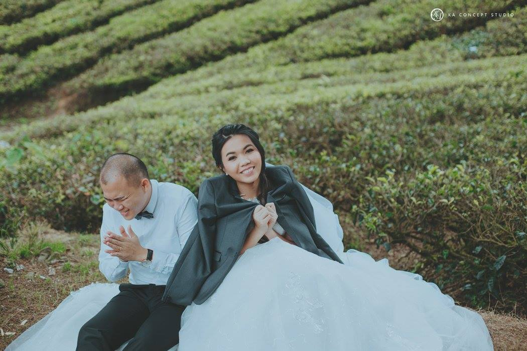 Natural Cameron Highland Pre-wedding